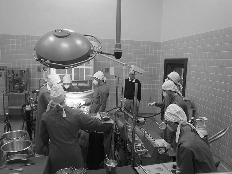 Operation theater where first heart transplant took place